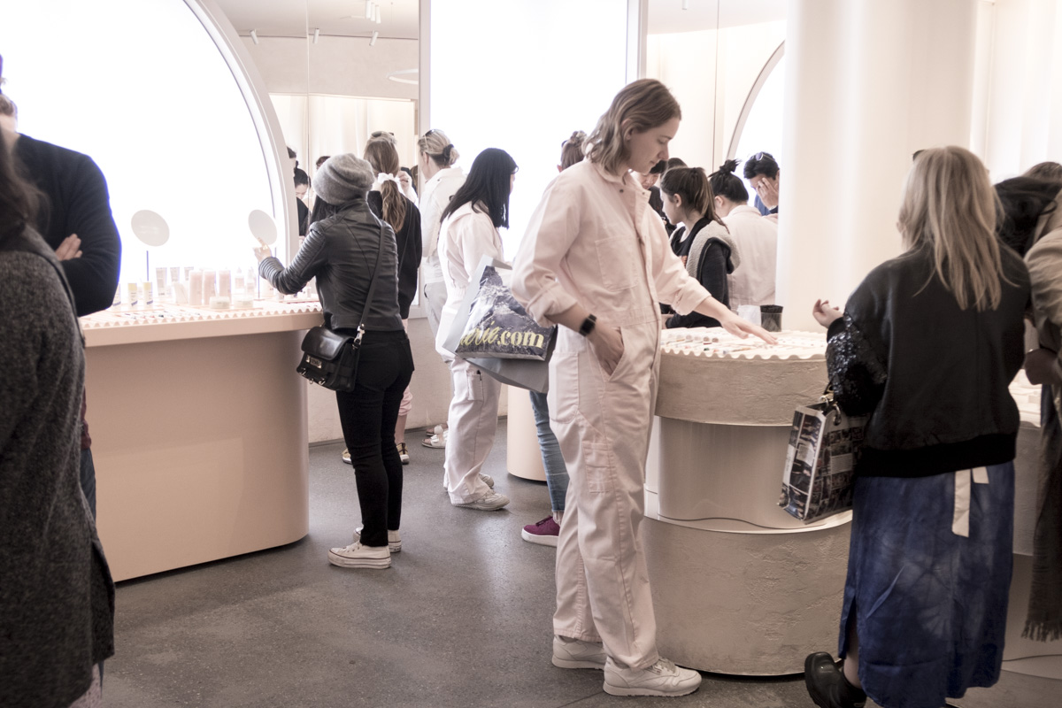 Glossier Flagship Store NYC
