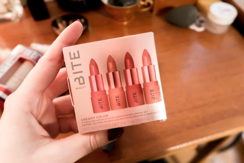 BITE Beauty 4-piece Mini Amuse Bouche Supercharged Lipstick Set