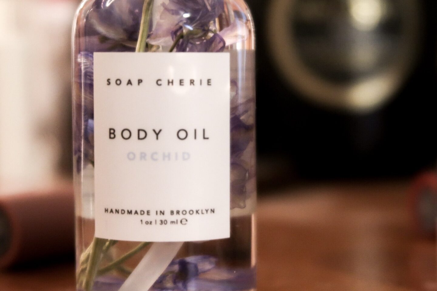 Soap Cherie Body Oil Orchid