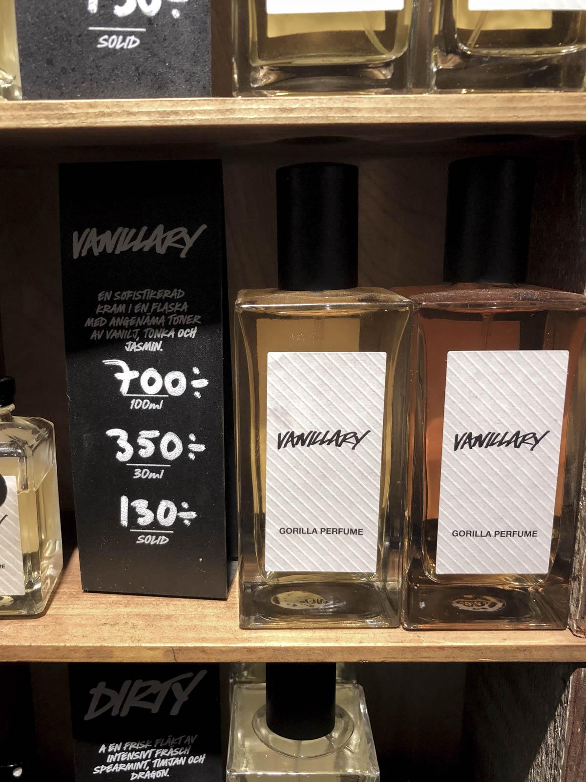 Lush Vanillary Parfym